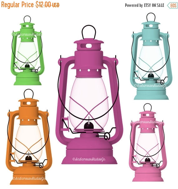 80% OFF SALE Camping Lantern Clipart Antique Hanging Lantern.