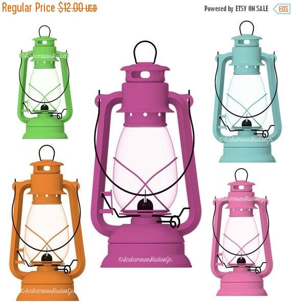 80% OFF SALE Camping Lantern Clipart Antique Hanging Lantern.