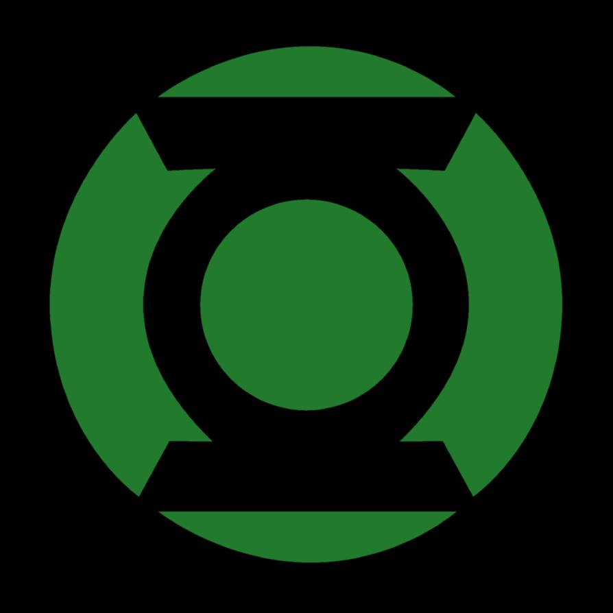 Green lantern corps clipart.