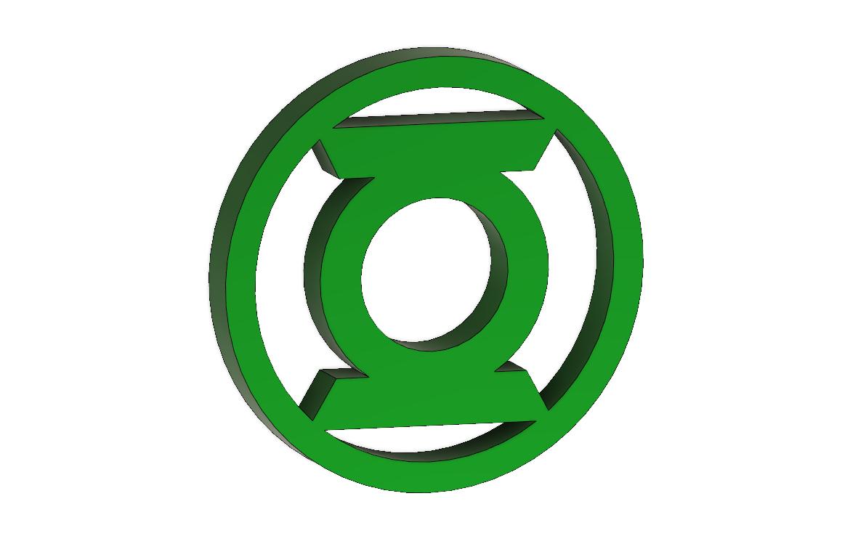 GREEN LANTERN logo.