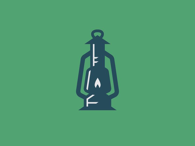Lantern Logo by Grant Burke.