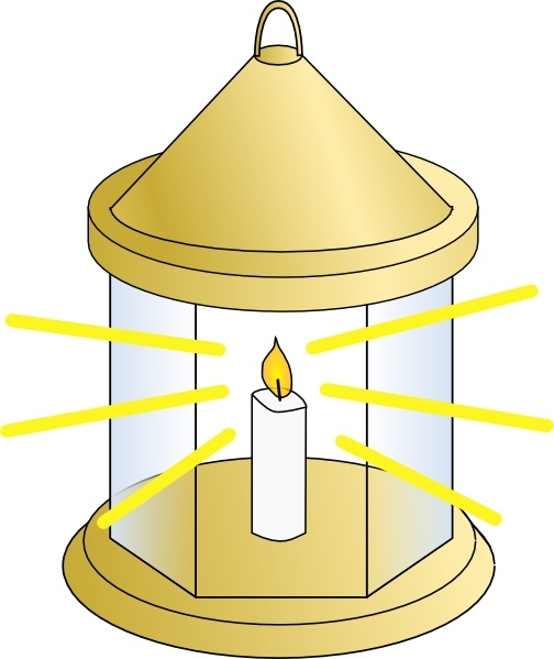 Lantern clip art Free vector in Open office drawing svg ( .svg.