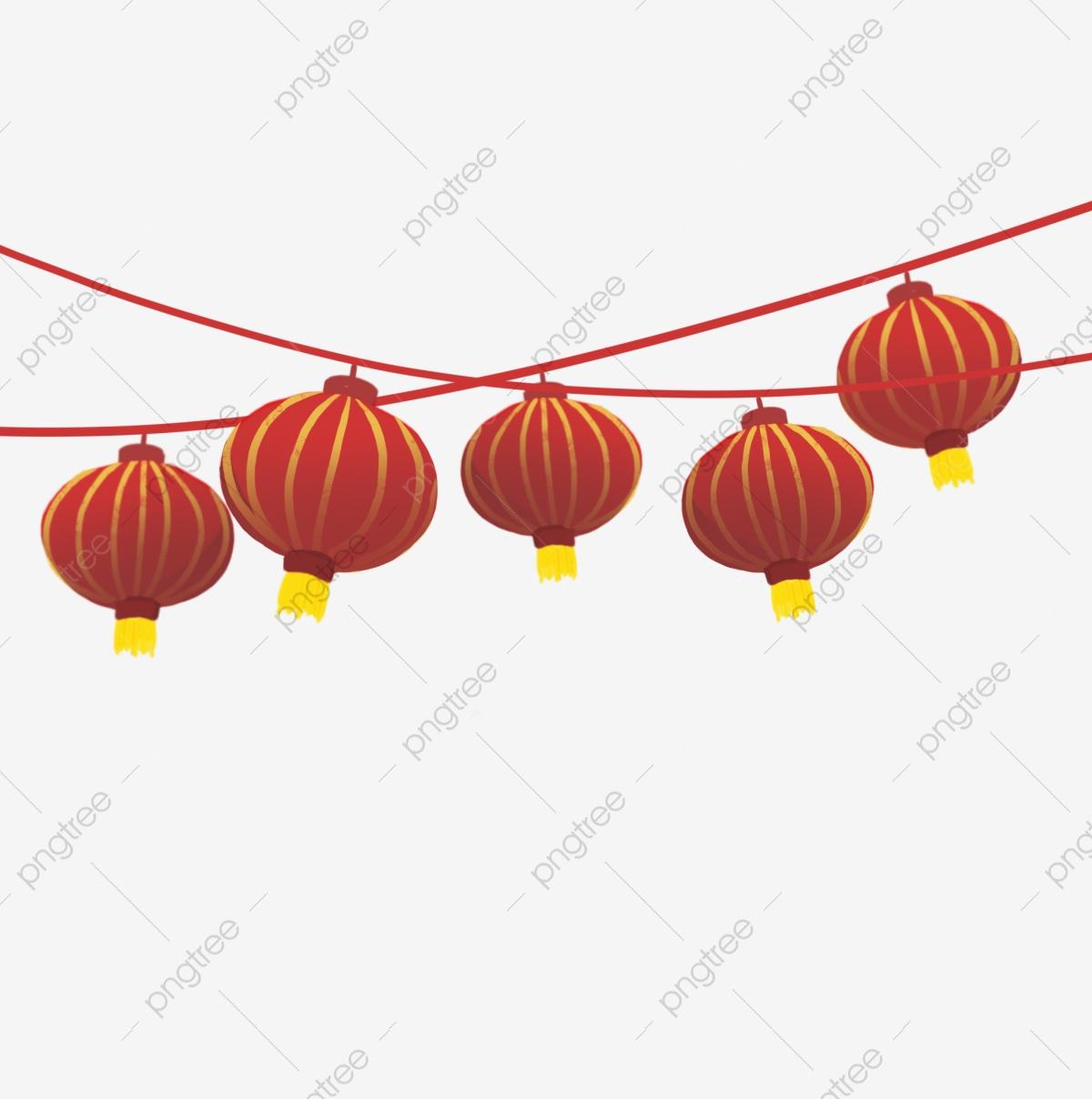 Lantern, Colored Lanterns, Chinese Lanterns PNG Transparent.