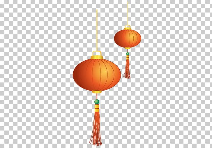 Chinese New Year Pair Of Lanterns PNG, Clipart, Chinese New.