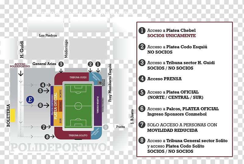Estadio Ciudad de Lanús.