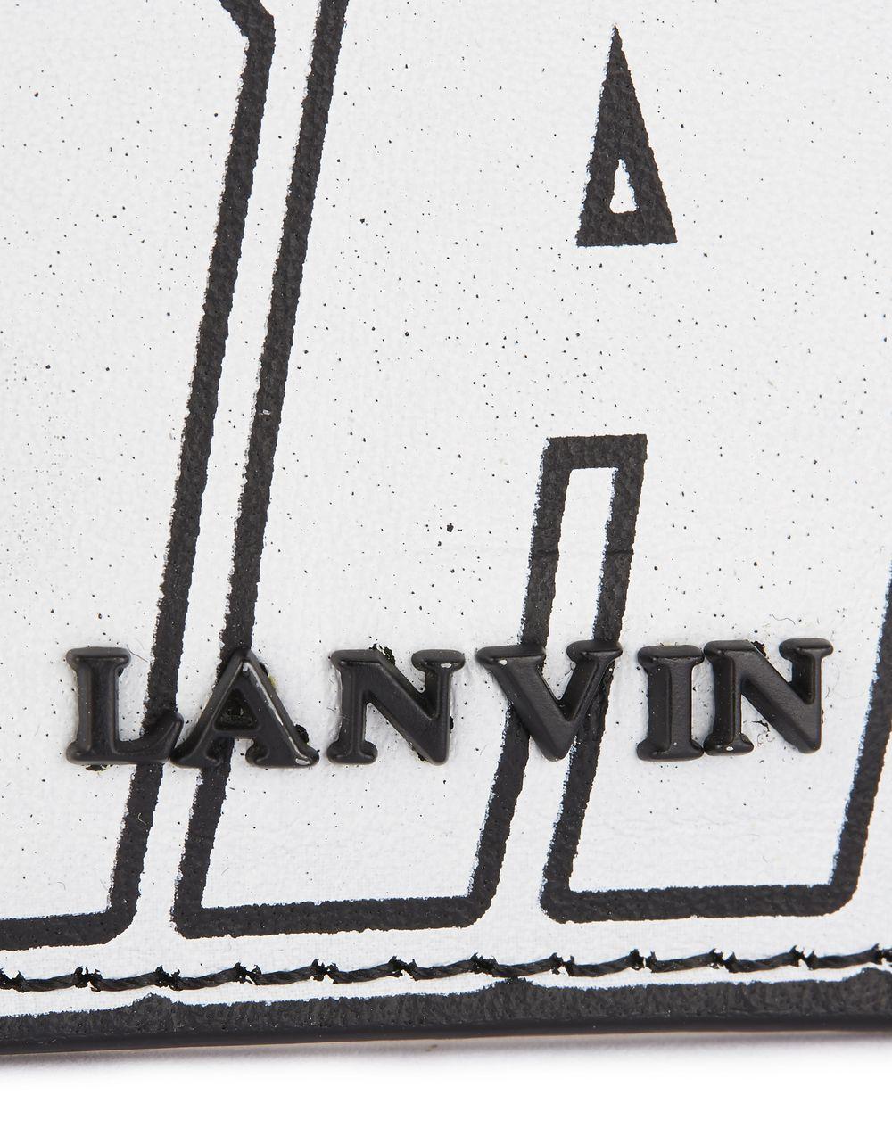 Lanvin LANVIN LOGO CARD HOLDER, Wallets & Card Holders Men.