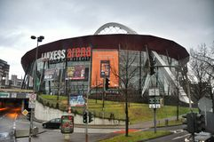 The Lanxess Arena In Cologne, Germany Editorial Stock Image.