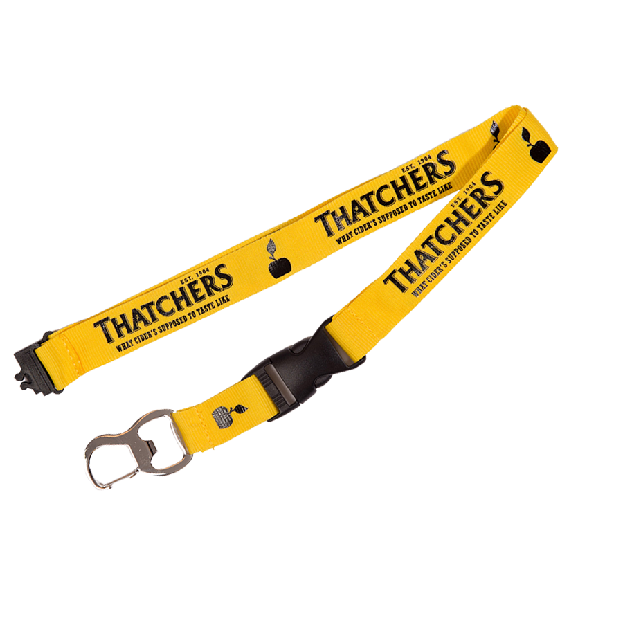 Thatchers Gold Lanyard.