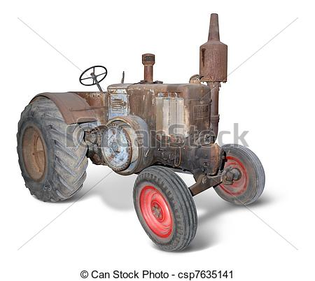 Picture of lanz, tractor.