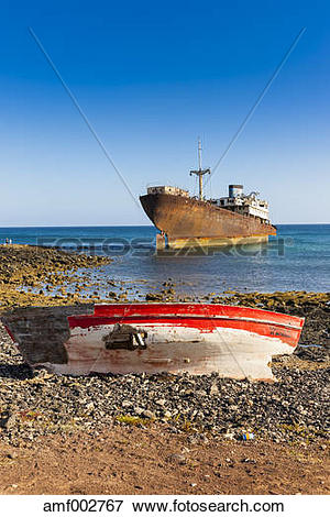 Picture of Spain, Canary Islands, Lanzarote, Arrecife, Punta Chica.