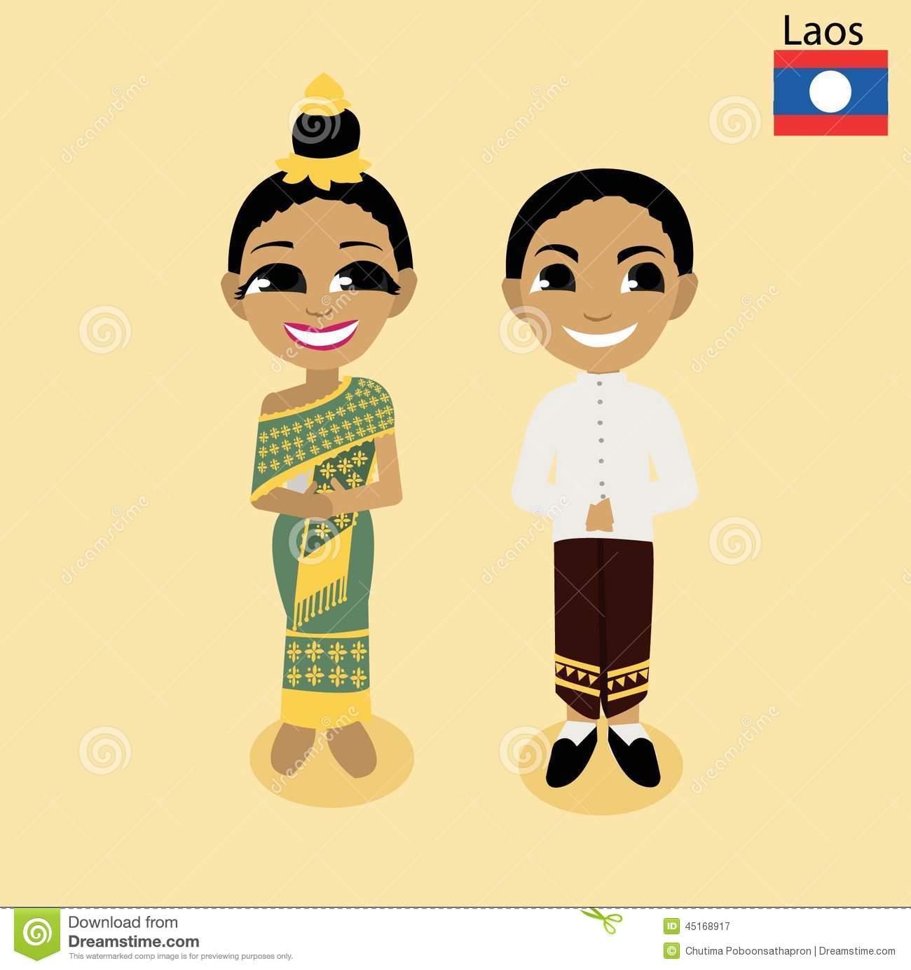 ASEAN Laos Royalty Free Stock Photos.