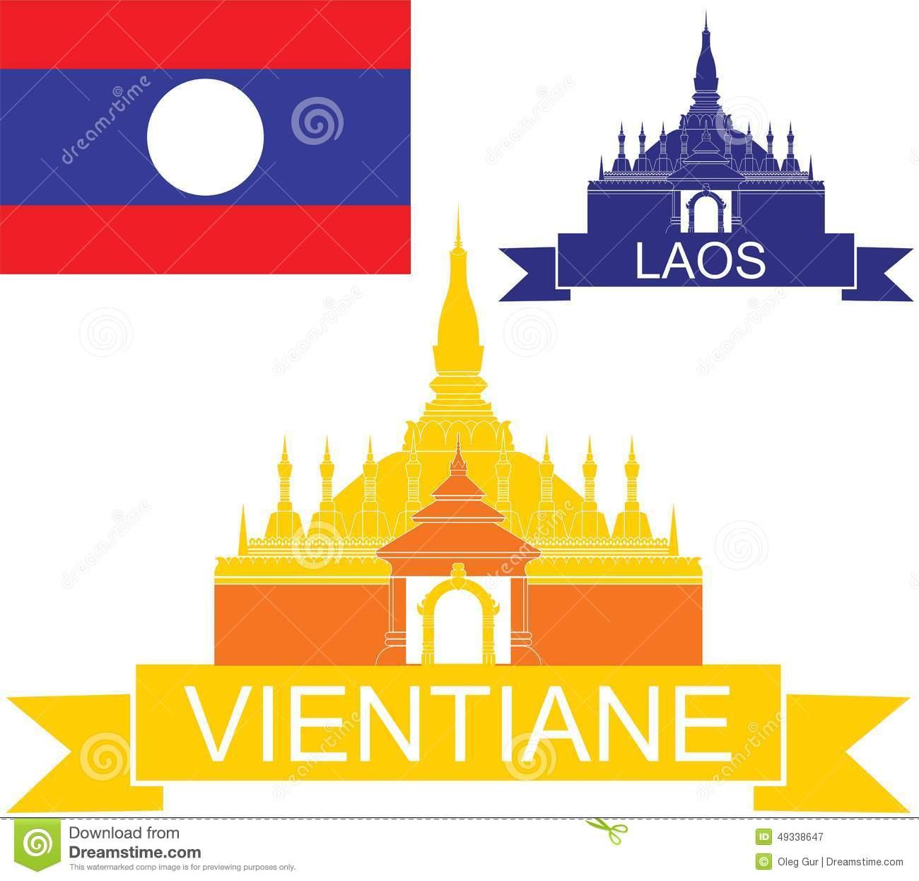 Vientiane Stock Illustrations.