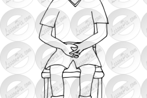 Lap clipart black and white 1 » Clipart Station.