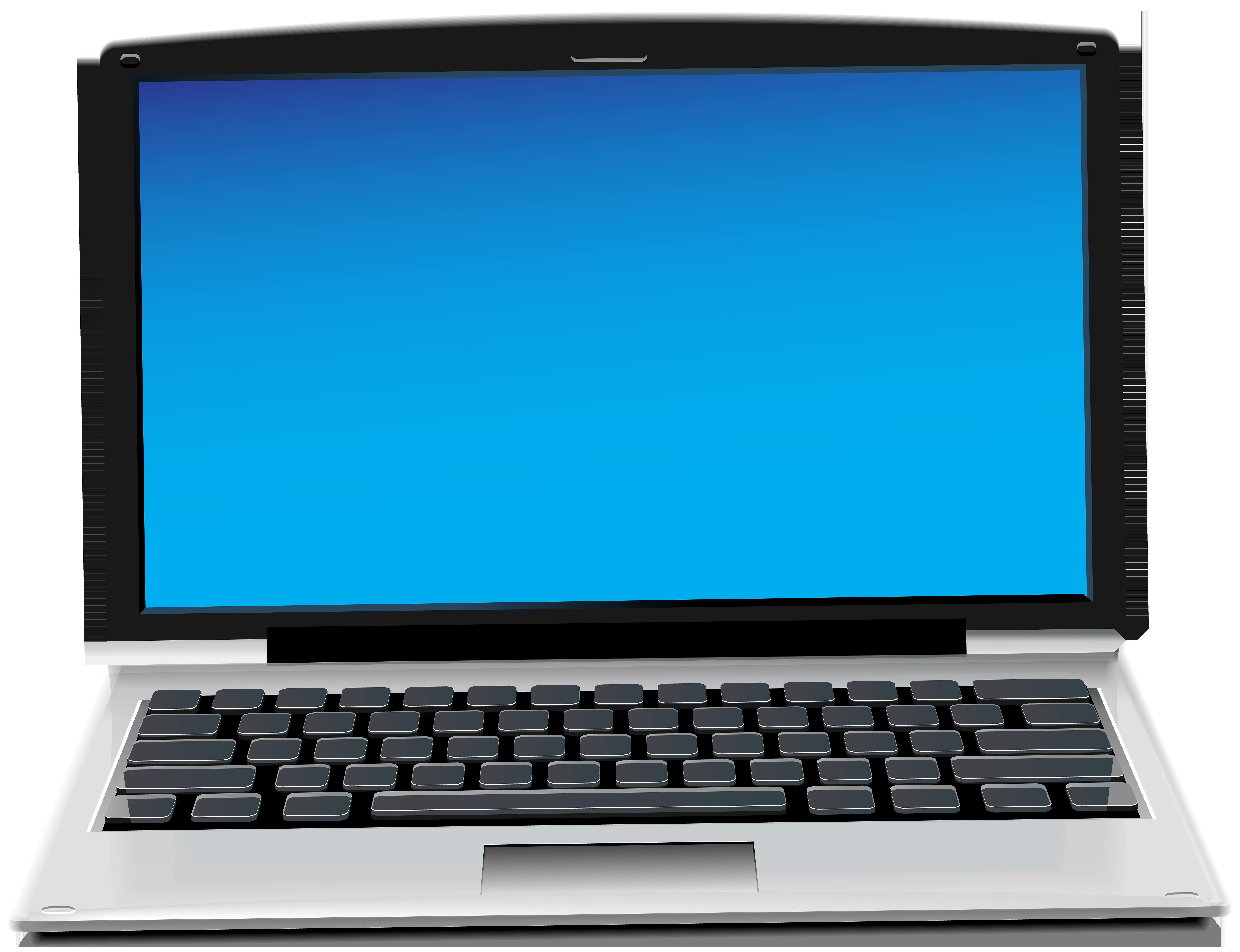 Laptop PNG Clip Art Image.