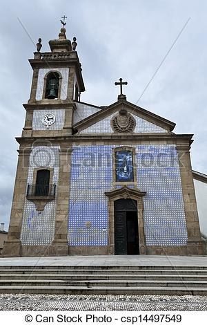 Stock Photo of Lapa Church, officially Parish Church of Our Lady.