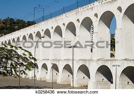 Stock Images of Arcos da lapa k0258436.