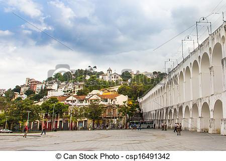 Stock Photo of Lapa, Rio de janeiro, Brasil..