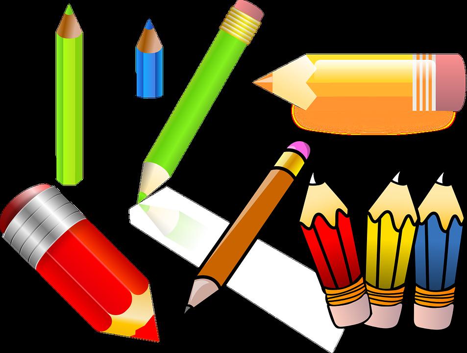 Lapis de cor desenho png 2 » PNG Image.