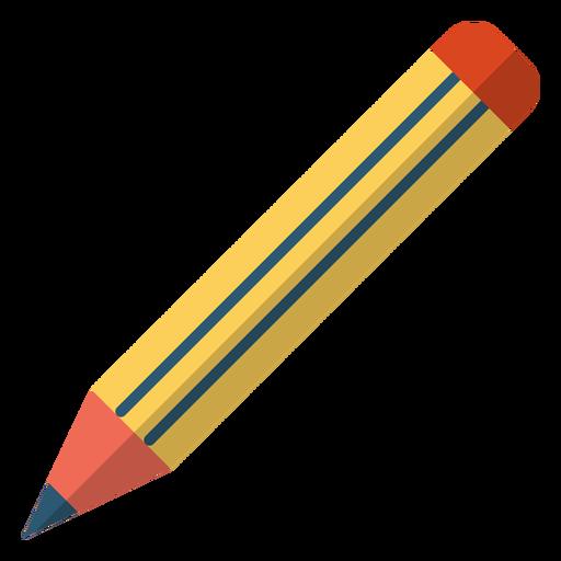 Pencil school illustration.