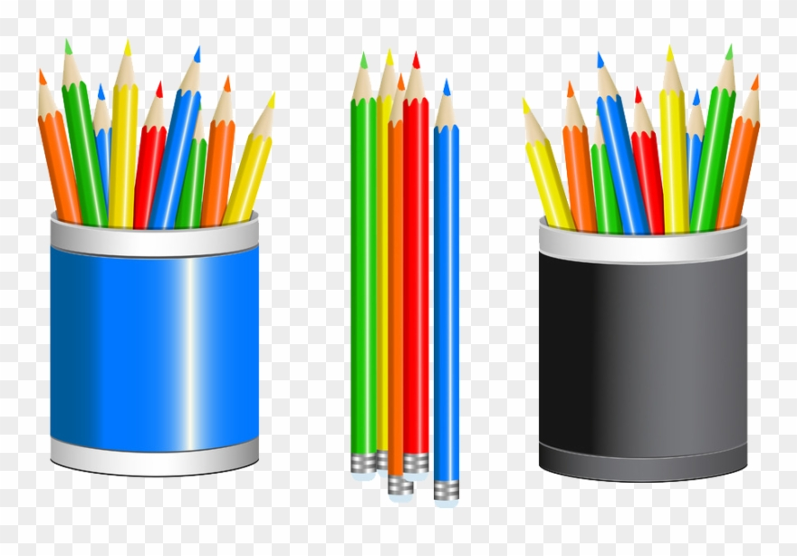 Drawing Clipart Colour Pencil.