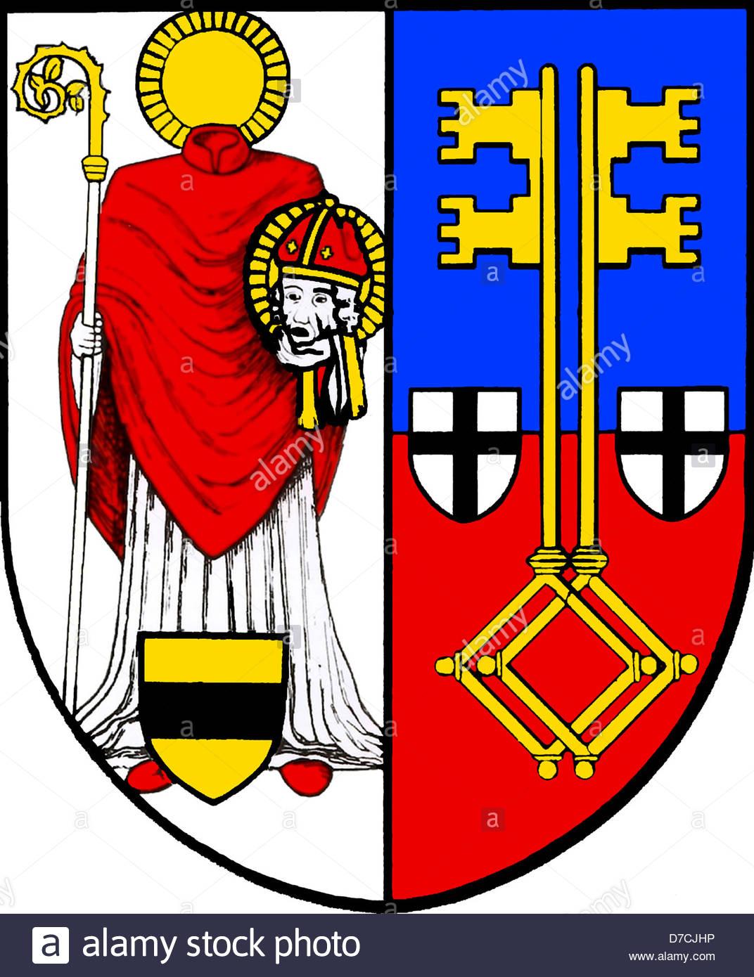 Coat Arms State North Rhine Westphalia Stock Photos & Coat Arms.