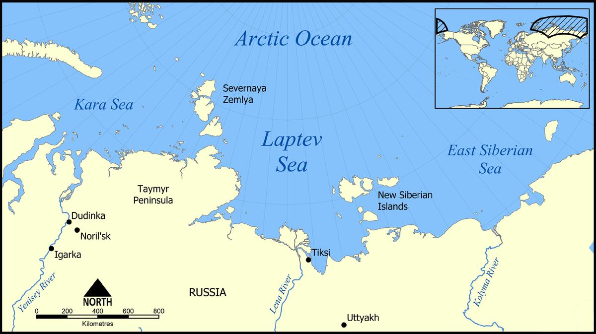 Laptev Sea.