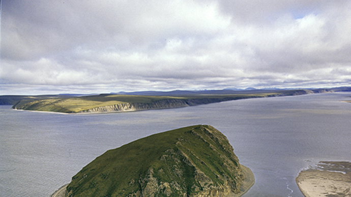 Russian territory increases as new islet emerges in Laptev Sea.