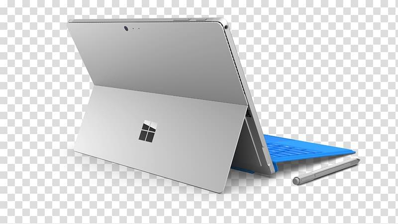 Silver Microsoft Surface Pro , Microsoft Surface Pro 4 Back.
