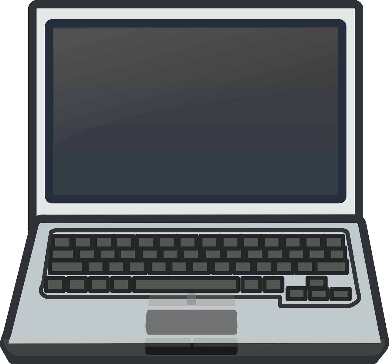 Free to Use & Public Domain Laptop Clip Art.