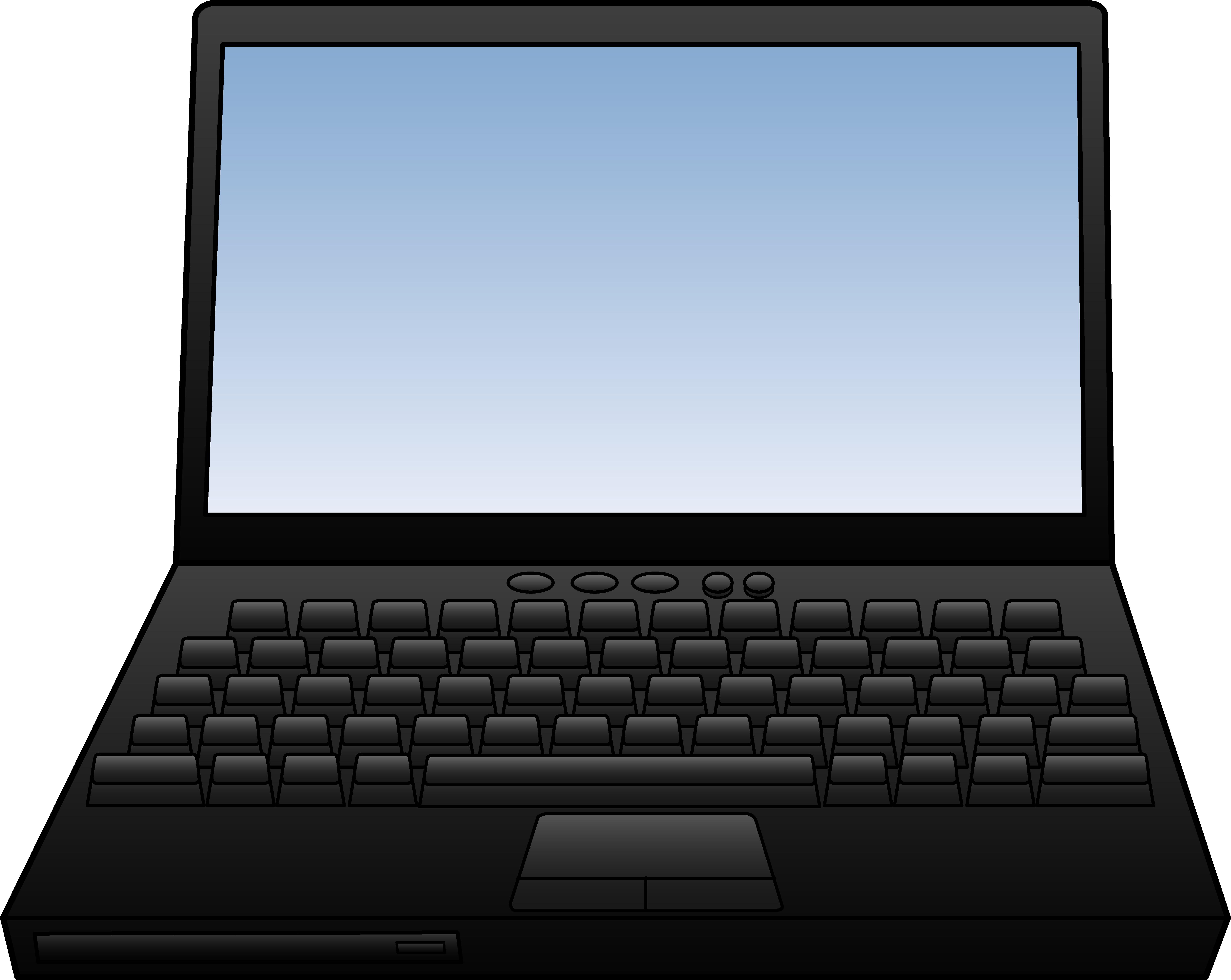 Laptop Computer keyboard Clip art.