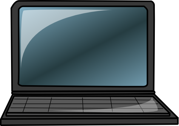 Free to Use & Public Domain Laptop Clip Art.