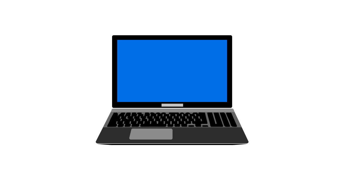 Laptop Illustration Vector and PNG.