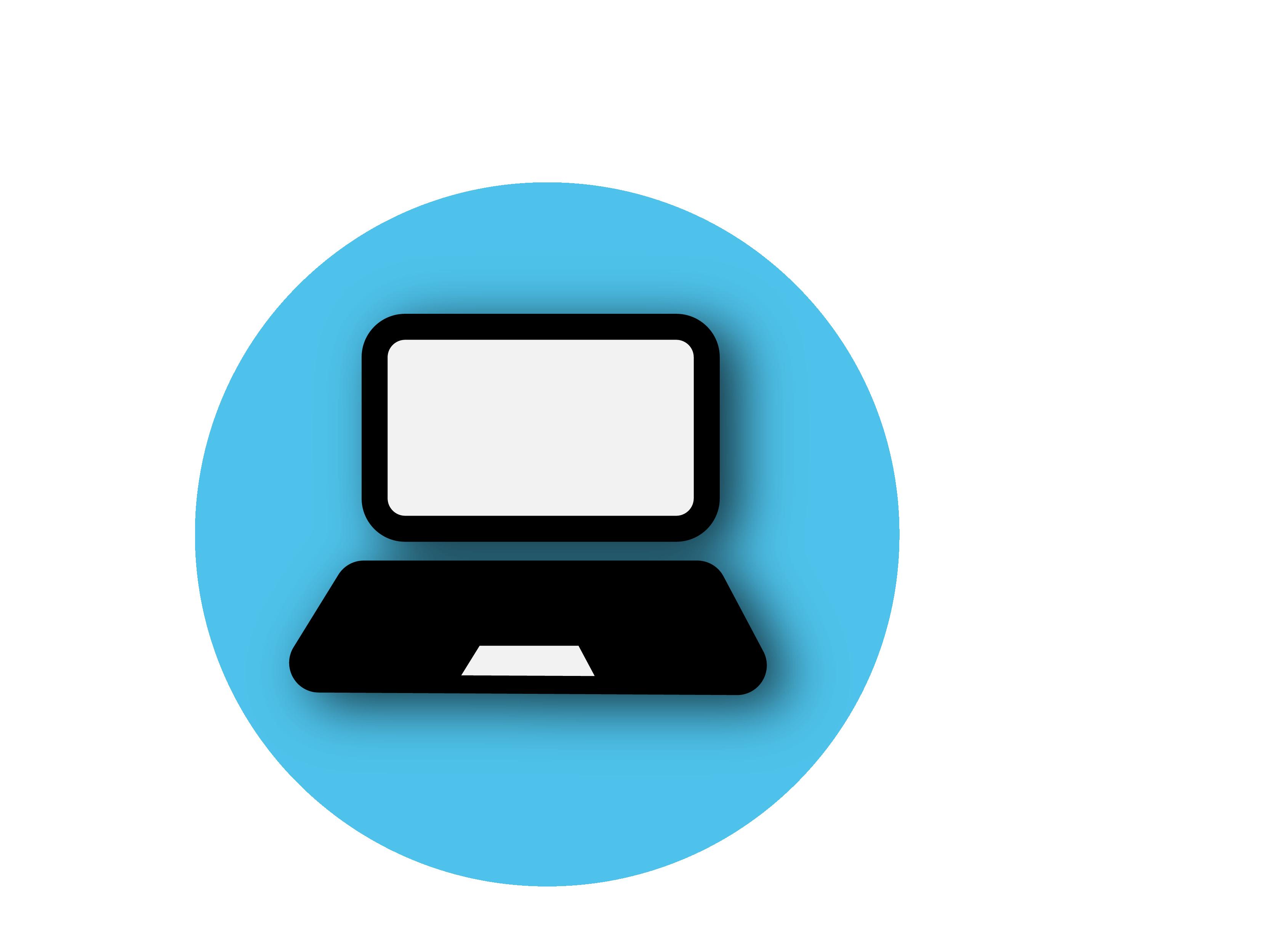 Laptop Symbol PNG Image.