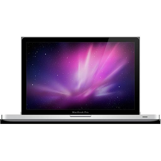 Computer, laptop, mac, macbook pro, snow leopard icon.