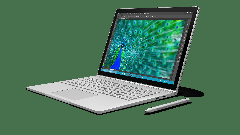 Microsoft Surface Laptop transparent PNG.