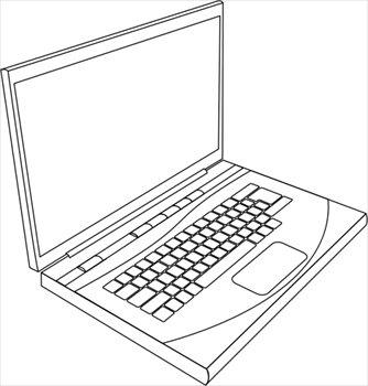 Laptops clip art.