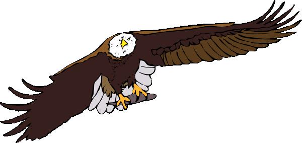 Aquila Frontale Clip Art at Clker.com.