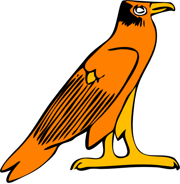 Pharoa Eagle Clip Art at Clker.com.