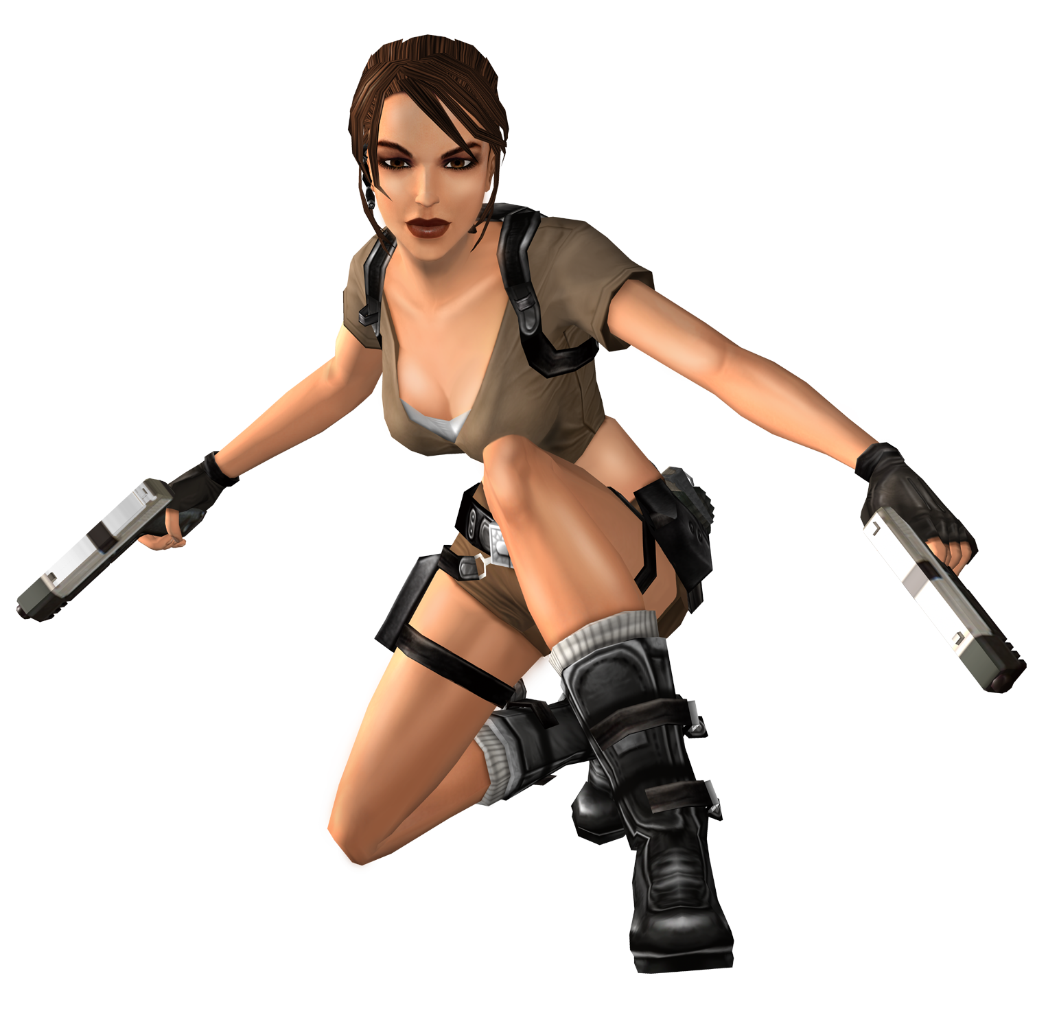 Lara Croft PNG Images Transparent Background.