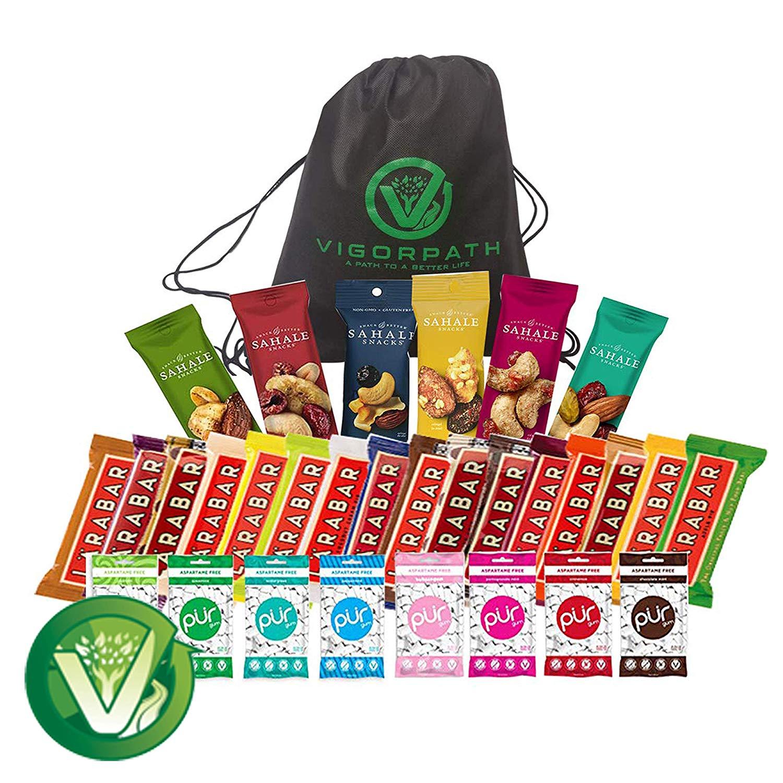 Amazon.com: Ultimate Healthy Snacks Sampler (Including.