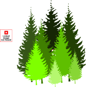 Pine Tree Grouping By Atom Clip Art at Clker.com.