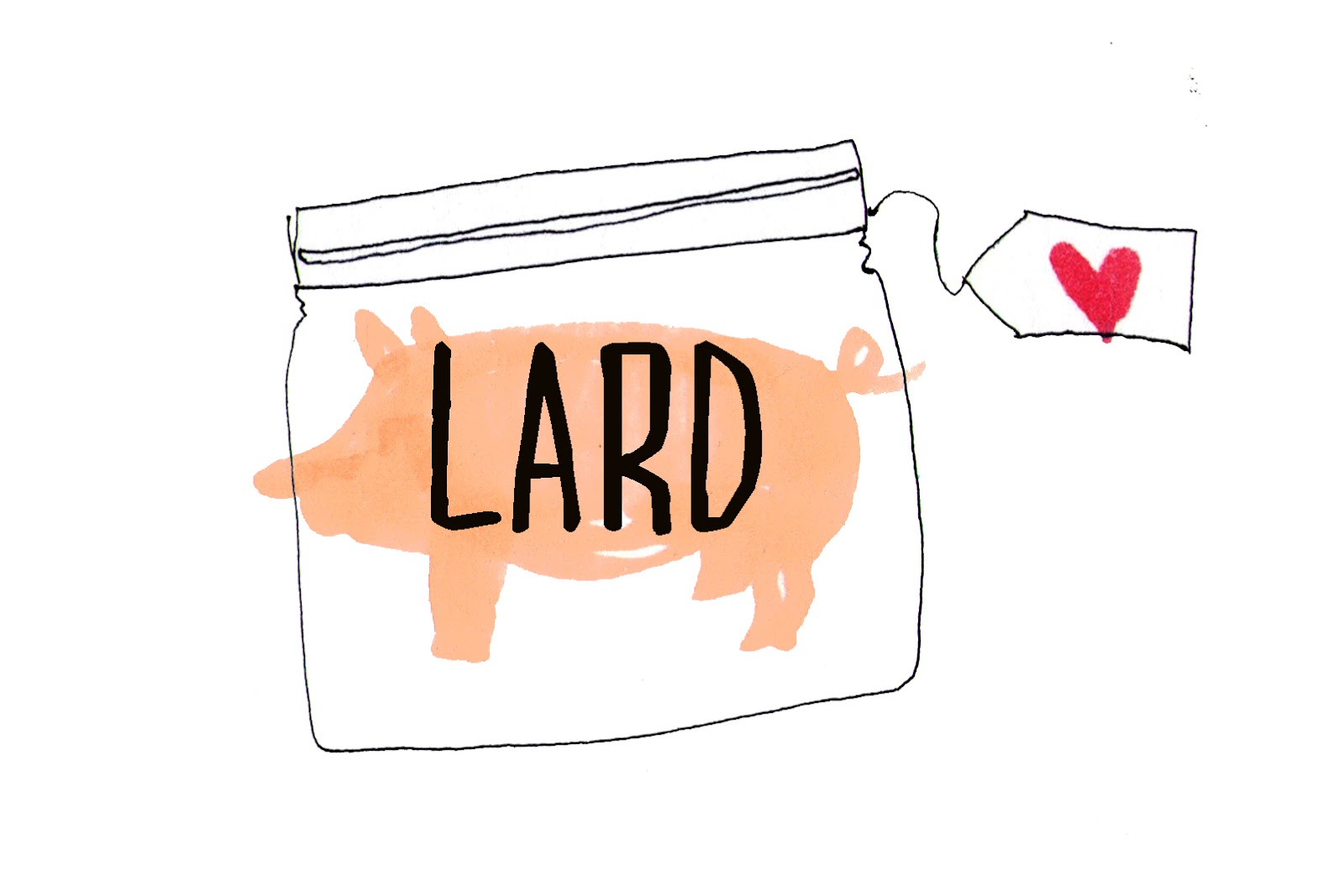 Mummy, I can cook!: For the love of lard.