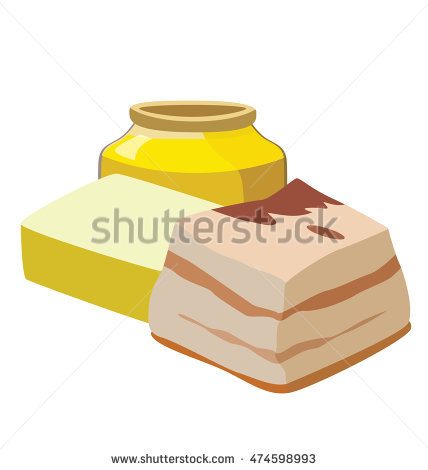 Lard Stock Photos, Royalty.