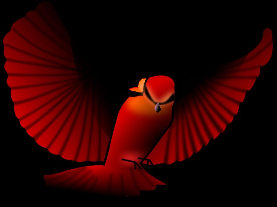 Red Bird Clipart.