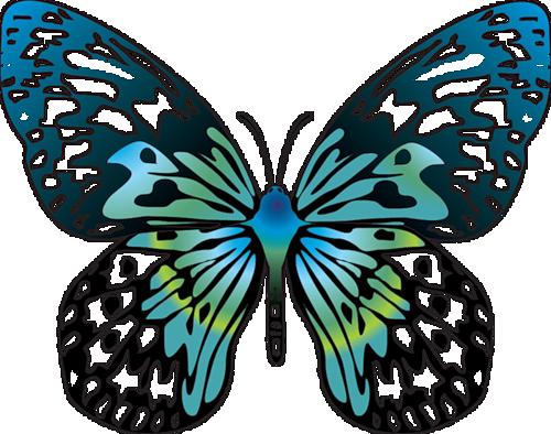 IMAGES OF Cartoon Butterflies.