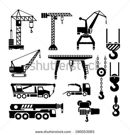 Crane Stock Photos, Royalty.