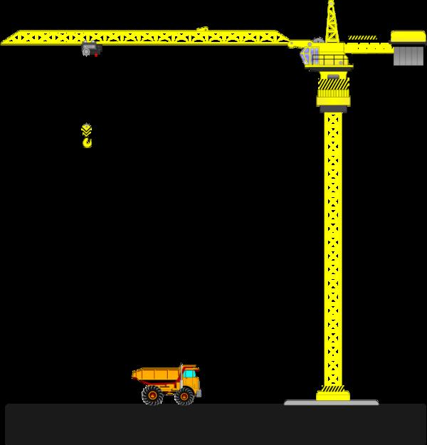 TOWER CRANE.