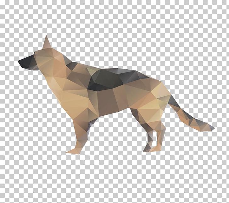 French Bulldog Wolfdog, Creative large dog PNG clipart.
