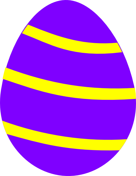 Large Easter Egg Clipart.