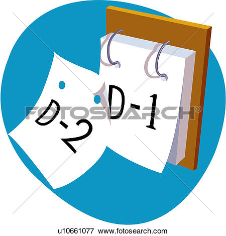 Clip Art of education, student aptitude test, office stationery.